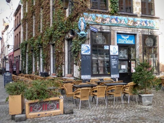 knajpa w Antwerpii